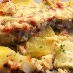 Brokkoli-Kartoffel Auflauf mit Schinken