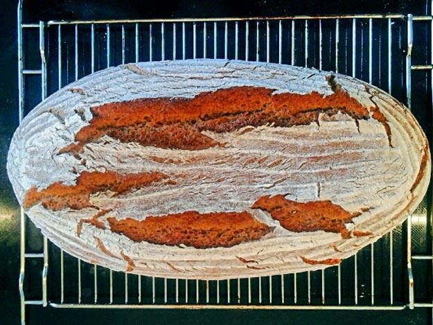 Brot fertig gebacken