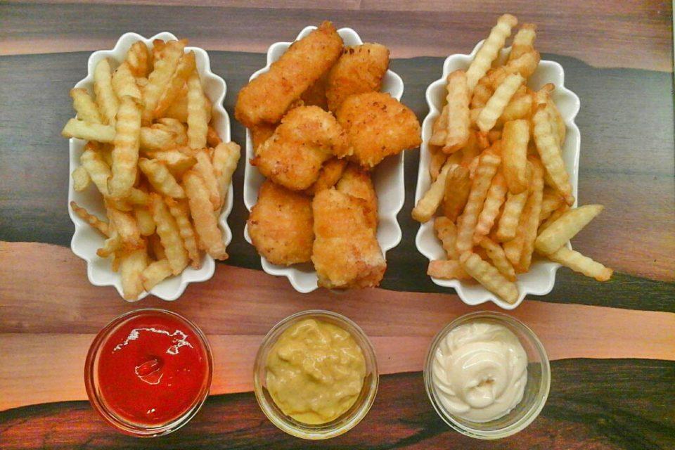 Chicken und Chips
