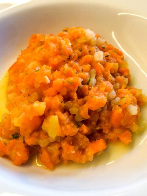 Möhreneintopf - vegan mit Fleischgeschmack