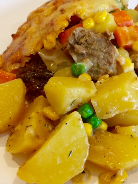 Kartoffel Gemüse Auflauf a'la Piotki Puruski