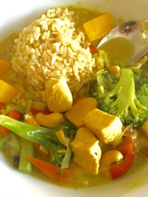 Curryhuhn