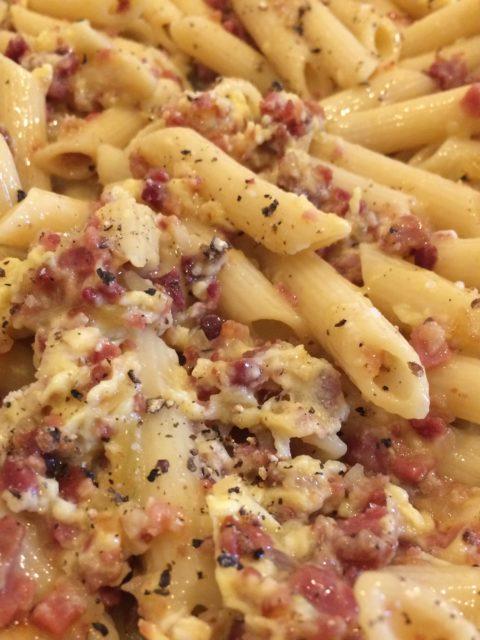 Pasta mit Carbonara