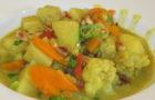 Blumenkohlcurry mit Kartoffeln