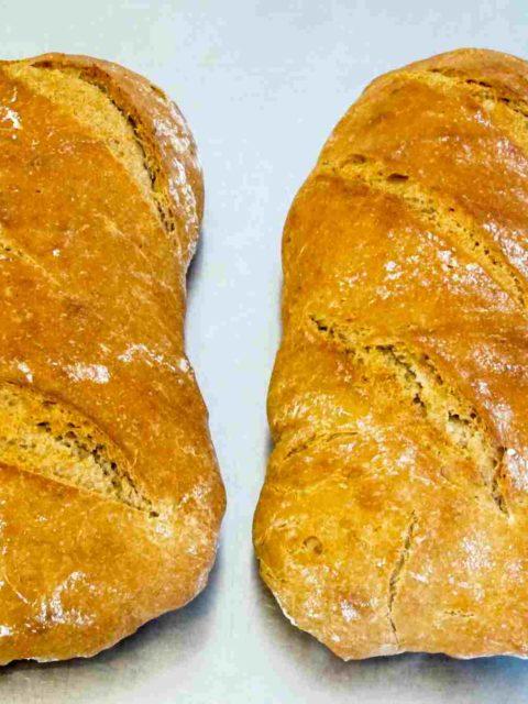 Weizenmischbrot mit Roggensauerteig