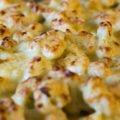 Blumenkohl-Kartoffel-Gratin mit Hackfleisch